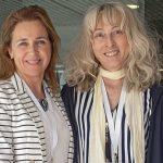 Esperanza Naredo, del Hospital Gregorio Marañón, de Madrid, y Jacqueline Usón, del Hospital de Móstoles. (Jaume Cosialls)