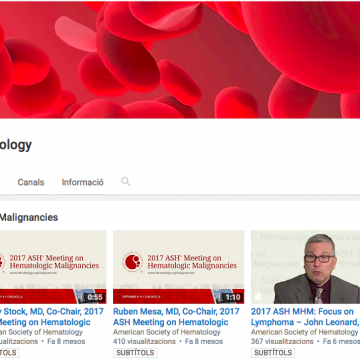Canal de YouTube de American Society of Hematology