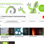 United European Gastroenterology (UEG): Canal de YouTube