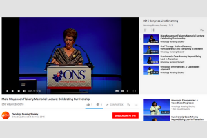 Congress: Oncology Nursing Society