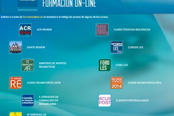 Formación on-line de la Sociedad Española de Reumatología