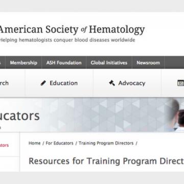 Formación de la Sociedad Americana de Hematología