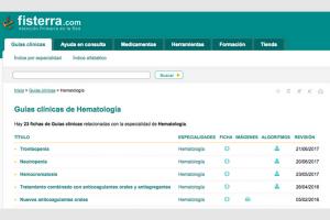 Fiesterra: Guías clínicas de hematología