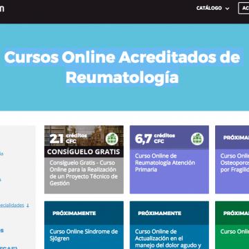 Cursos Online Acreditados de Reumatología