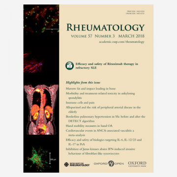 Progression of subclinical atherosclerosis in systemic lupus erythematosus versus rheumatoid…