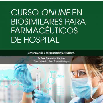 Kern Pharma lanza el primer curso 'on line' sobre biosimilares…