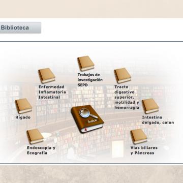 Biblioteca virtual de Gastroenterología