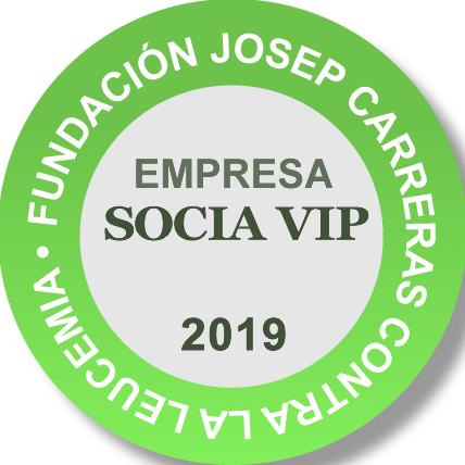 Fundación Josep Carreras contra la Leucemia - Empresa VIP 2019