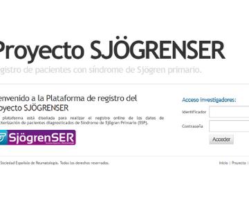 Publicados los resultados del estudio SjögrenSER que comparan la actividad…
