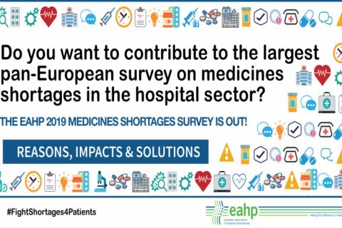 La EAHP llama a los sanitarios de la UE a que den su versión sobre los desabastecimientos
