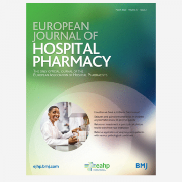 European Journal of Hospital Pharmacy (EJHP)