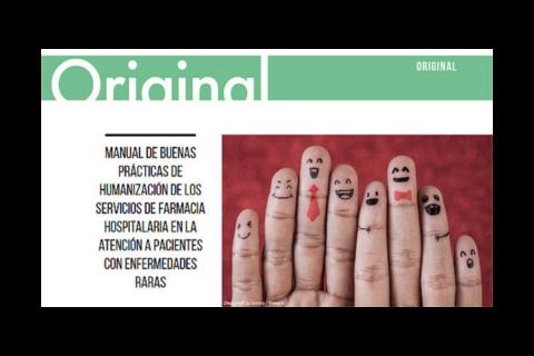 Un manual para humanizar la atención a pacientes con enfermedades raras en los servicios de Farmacia
