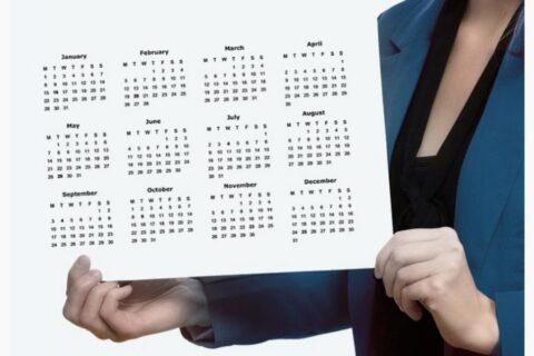 Calendario de eventos GECH